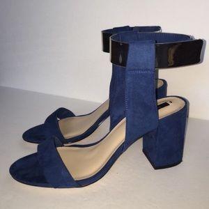 Zara metallic heels
